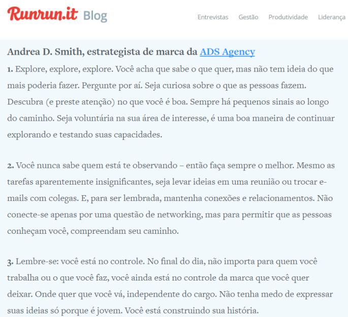 Portuguese Blog